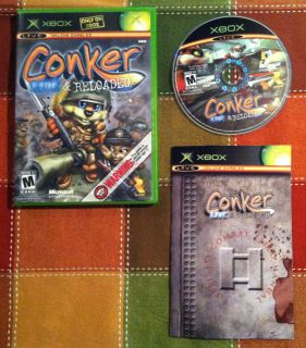 Conkers Bad Fur Day Live Reloaded COMPLETE Xbox Xbox 360 2005
