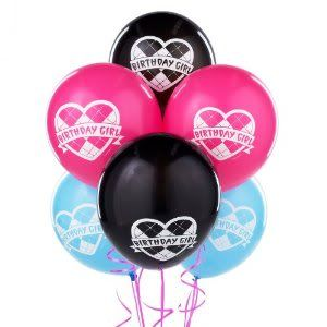 Monster High Birthday Party Latex Balloons Decorations Supplies