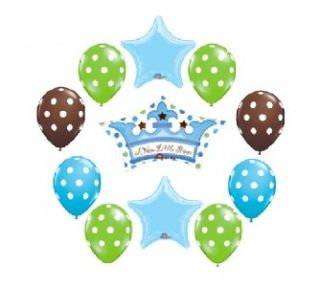 Baby Shower Balloons Party Supplies New Prince Welcome