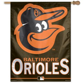 Baltimore Orioles MLB Primary Logo Vertical Flag 27x37 Banner