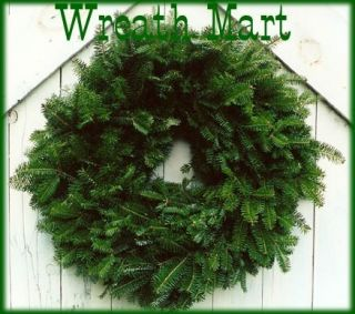 Maine Balsam Fir Christmas Wreaths 18 Made Fresh Daily