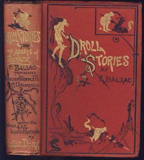 DROLL STORIES by BALZAC Illust GUSTAVE DORE