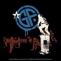 New Goldfinger Band Logo Statue Vinyl Sticker Decal