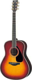 Yamaha L Series LL6 Dreadnought Acoustic Guitar with Case Features