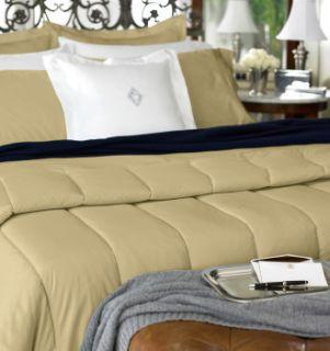 RALPH LAUREN Lawton 400TC KING Comforter WHITE