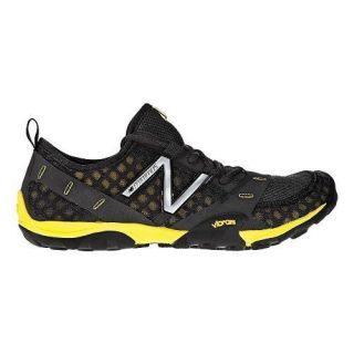 mens new balance minimus 10 trail shoes black yellow men s new balance