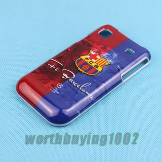 FCB Barcelona Football Team Club Hard Cover Case for Samsung Galaxy s