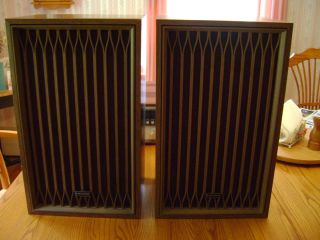 Kenwood KL 333D Vintage 70s Floor Standing Speakers