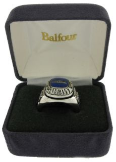 Balfour Ring Football NFL Team Seattle Seahawks Sz 7 5