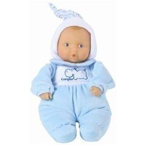 Babipouce Babi Sky Plush Vinyl Face 12 Baby Boy Doll