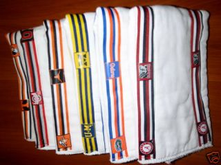 Ohio State Other NCAA Team Ribbon Baby Burp Cloths