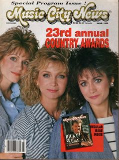 Barbara Louise Irlene Mandrell Keith Whitley 1989 Music City News D3