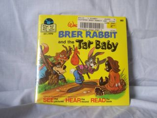 Disneys Brer Rabbit and The Tar Baby Record Book Mint
