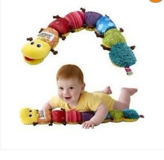 Brand New Lamaze Soft Baby Toys Musical Inchworm Plush Rattles Birth 0