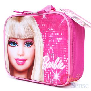 Barbie School Roller Backpack Lunch Bag Large Set 16
