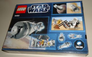 Lego Star Wars 9490 Droid Escape 137 pcs INCLUDES 4 Mini Figs nip htf