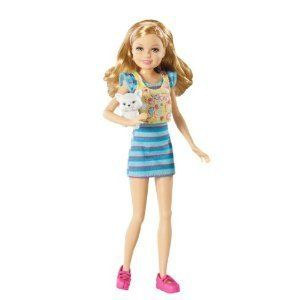 Barbie Sisters Stacie Doll and Pet New Accessories Dolls Games Toys