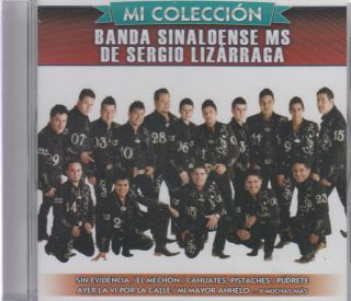 Banda Sinaloense MS de Sergio Lizarraga CD New MI Coleccion 18