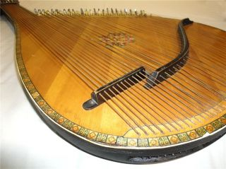 Old Traditional Ukrainian Bandura 55 Strings Original