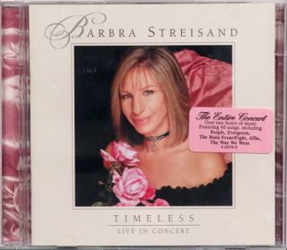 Barbra Streisand Timeless Live in Concert 2 CDs 2000 074646377826
