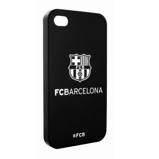 Barcelona Back Case Cover iPhone 4 4S Black Official Screen Protector