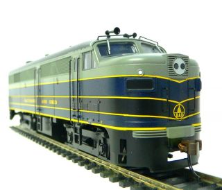 HO Scale Model Railroad Trains Layout Bachmann Baltimore Ohio FA2 DCC
