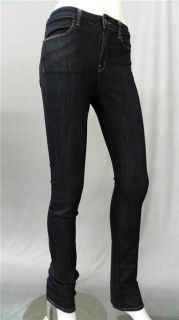 Brand Bardot Misses 24 Stretch Indigo High Rise Skinny Leg Jeans
