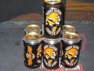 Hells Angels Sonny Barger Beer Can Mint Full Harley Davidson Sturgis