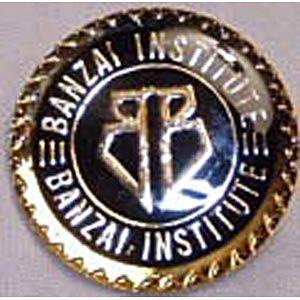 Buckaroo Banzai Movie Banzai Institute Logo Enamel Pin