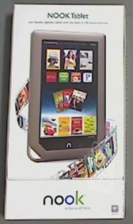Barnes Noble BNTV250 Nook Tablet Color 16GB 1GHz New