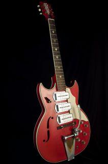 Vintage Old Kraftsman 3 Pickup Barney Kessel Archtop Electric Guitar