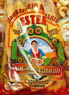 Taralli Maxi Puglia Olio Extravergine Di Oliva Semi Finocchio Prodotti
