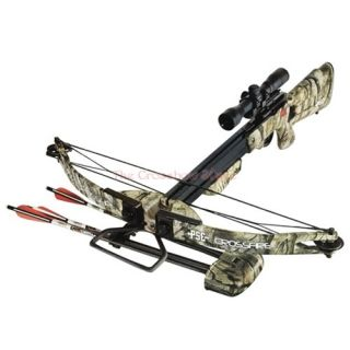 pse 150lbs crossfire crossbow with 4x32 scope