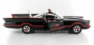Hot Wheels Batman George Barris Original Series Batmobile Replica 1 18