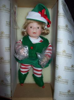 Ashton Drake Kathy Barry Hippensteel Doll Christmas Wish List w COA
