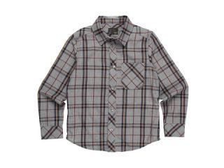 Fendi Kids Boys L/S Plaid Button Up Shirt (Little Kids/Big Kids) $174