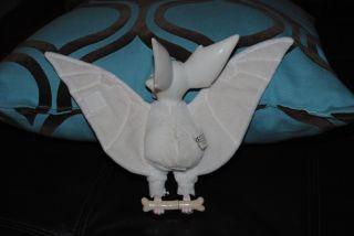 Anastasia White Bat Bartok Talking Plush Doll 1997