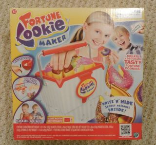 NEW Forune Cookie Maker Real Baker Machine Craf Secre Message