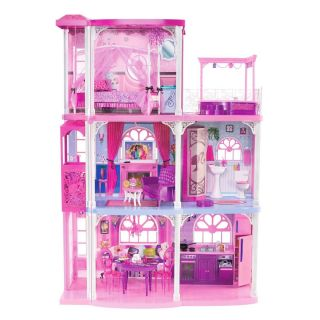 Mattel Barbie Doll 3 Story HUGE Town House Townhouse Dream House