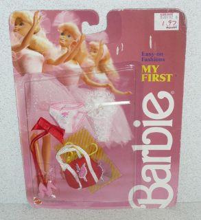 Mattel Barbie Doll My First Barbie Easy on Fashion NRFC 1987
