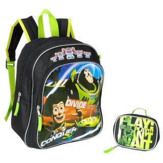 Disney Toy Story Buzz Woody Kids Boys School 12 Backpack Bag Utility