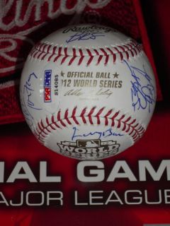 Giants Team Signed World Series Baseball PSA DNA Sandoval