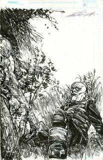 Michael Zulli Delicate Creatures P25 Original Splash Page Comic Art