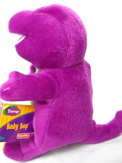 New 9  Barney Plush Doll Can Sing I Love You Song