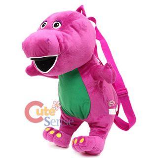 Barney Plush Doll Backpack Jumbo Stuffed Toy Plush Bag 17 Licensed