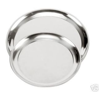 Norpro 2 pc Stainless Steel Pizza Pan set NEW
