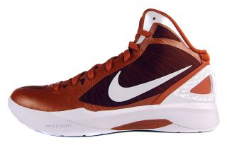 Zoom Hyperdunk 2011 TB Sz 16 Mens Basketball Shoes Desert Orange/White
