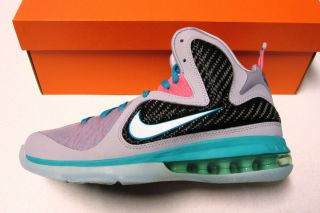 James 9 South Beach Kids Youth Basketball Shoes Size 6 5 Wmns 8