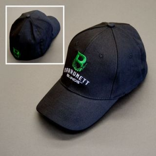 New Black Barronett Blinds Hub Blinds Baseball Hat Ball Cap