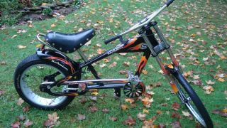 Schwinn Stingray Orange County Choppers 20 Black Bicycle Bike